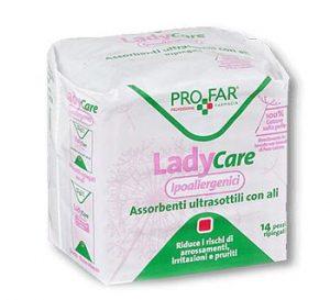 Lady care assorbente